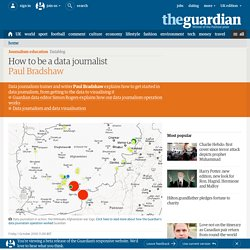 How to be a data journalist
