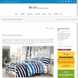 How to decorate your bedroom? - Izzz Blog