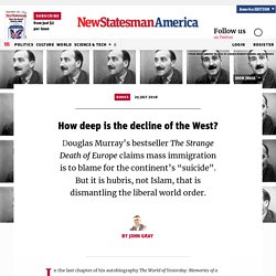 How deep is the decline of the West?