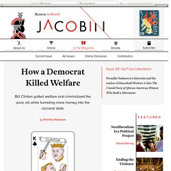 How a Democrat Killed Welfare