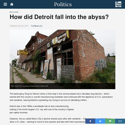 How did Detroit fall into the abyss?