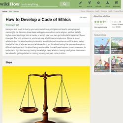 How to Develop a Code of Ethics: 7 Steps