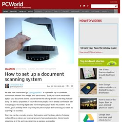 ▶ How to digitize your paper documents