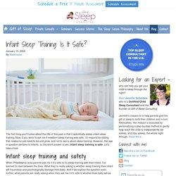 How do you sleep train a baby?