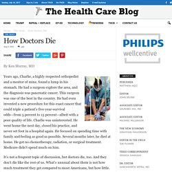 How Doctors Die