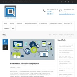 How Does Active Directory Work?