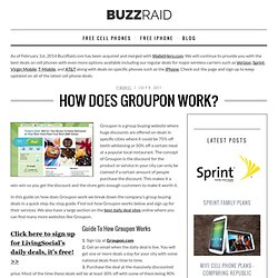 How Does Groupon Work? - Buzzraid