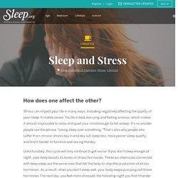 How Does Stress Affect Sleep?