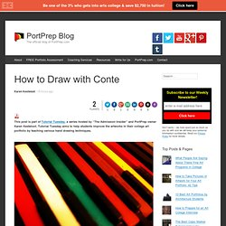 How to Draw with Conte