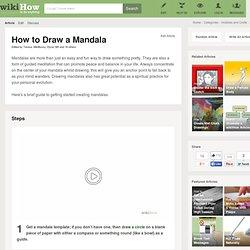 How to Draw a Mandala: 10 Steps