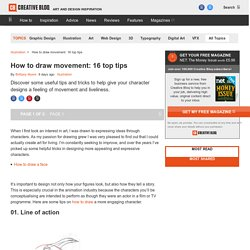 How to draw movement: 16 top tips