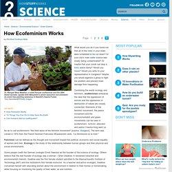How Ecofeminism Works