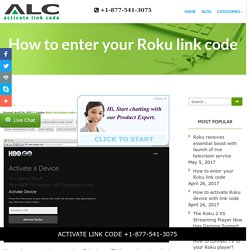 How to enter your Roku link code