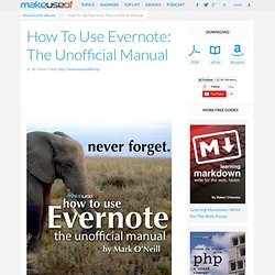 DOWNLOAD How To Use Evernote: The Missing Manual