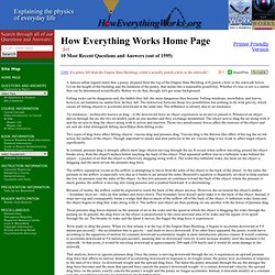How Everything Works - How Everything Works Home Page
