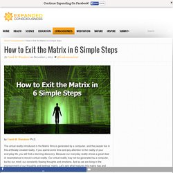 How to Exit the Matrix in 6 Simple Steps