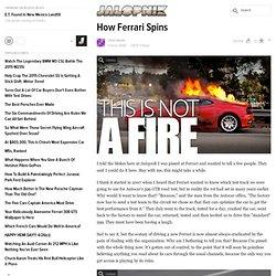 How Ferrari Spins