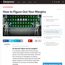 How to Figure Out Your Margins