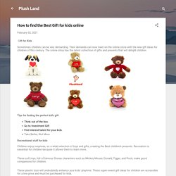 How to find the Best Gift for kids online