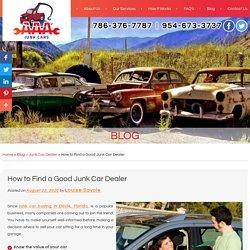 How to Find a Good Junk Car Dealer
