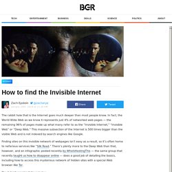 How to access TOR, Silk Road and the rest of the deep web