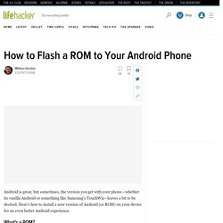 How to Choose the Right Android ROM for You