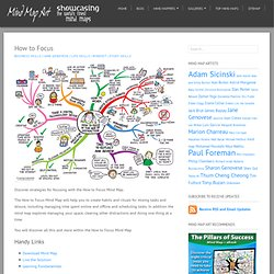 How to Focus Mind Map