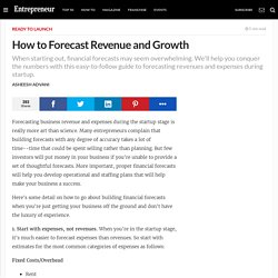 How to Forecast Revenue and Growth