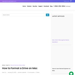 How to Format a Drive on Mac (Simple Steps)