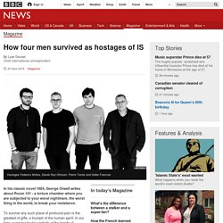 How four men survived as hostages of IS