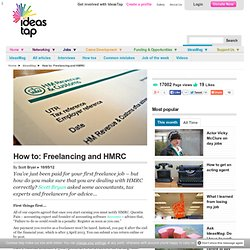 How to: Freelancing and HRMC