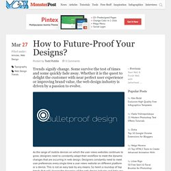 How to Future-Proof Your Designs?