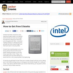 How to Get Free E-books