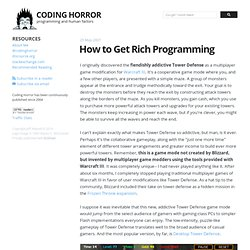 How to Get Rich Programming