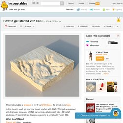 How to get started with CNC