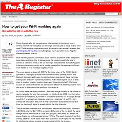 How to get your Wi-Fi working again | Reg Hardware