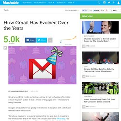 How Gmail Has Evolved Over the Years