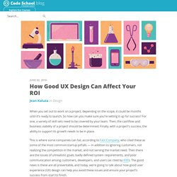 How Good UX Design Can Affect Your ROI