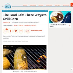 How to Grill Corn on the Cob (Three Ways)