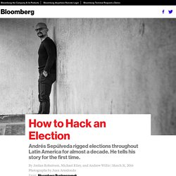 How to Hack an Election