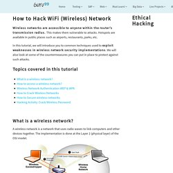 How to Hack WiFi (Wireless) Network