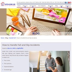 How to Handle Fall and Slip Accidents