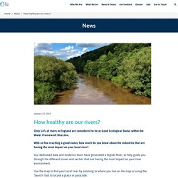 *****How healthy are our rivers? - The Rivers Trust