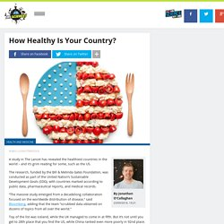 How Healthy Is Your Country?