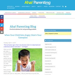 How To Help Your Child With Anger