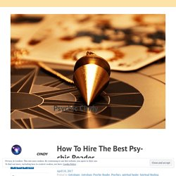How To Hire The Best Psychic Reader