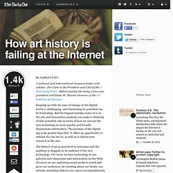 How art history is failing at the Internet