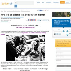 How to Buy a Home in a Competitive Market