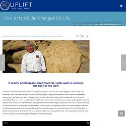 How a Hopi Elder Changed My Life