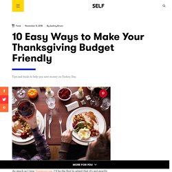 How to Host Thanksgiving on a Budget